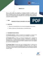 Informe 8 Densidad Optima