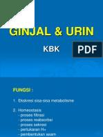BIOKIMIA GINJAL & URIN