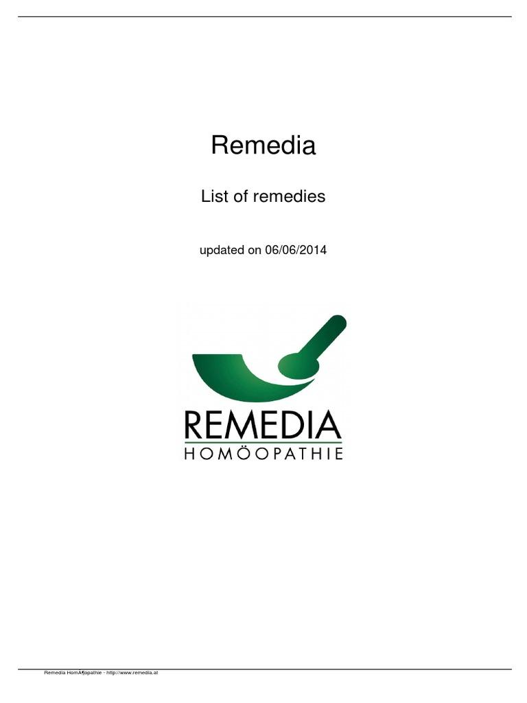 Remedia Homeopathy