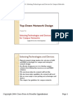 Selecting Technologies and Devices