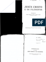 Pe. Eugênio Cantera - Jesus Cristo e os Filósofos (Escaneado)