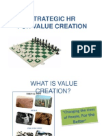 Strategic HR for Value Creation