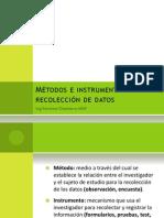 Metodos de Recoleccion de Datos 2013 A