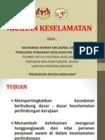 Keselamatan Dokumen Ashraf 2014