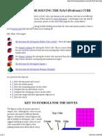 Solving ) Cube