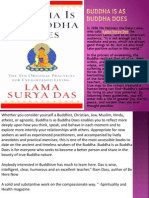Buddha is as Buddha Does - Lama Surya Das