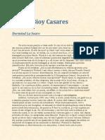 Adolfo Bioy Casares-Dormind La Soare 34343yu