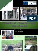 Visit to Pompeii
