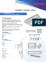 Baiyiled PLB Led Indirect Panel Light