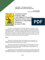 Hopi Survival Kit - Book Review