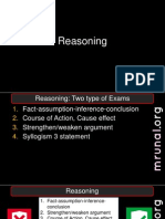GPSC L5 P3 Reasoning & English