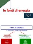 Le Fonti Di Energia