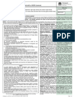 NSW Driving License Application Form