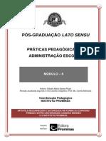 Práticas Pedagógicas de Administração Escolar--módulo 6