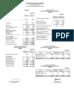 1st Quater Report-2014