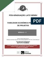 Viabilidade Econômico-financeiro de Projetos--módulo 3