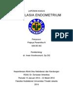 Case Hiperplasia Endometrium