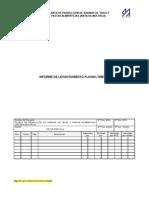 Levantamiento Planialtimetrico de Infraestructuras Obras y Servicios de La Planta de Produccion de Harinas de Trigo