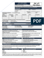 VR-ForM-F06.10 (Hot Work Permit Request Form)