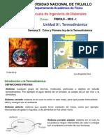 Semana 2 Calor y 1a Ley Termod 2012 I Ing.