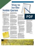 Quran Memorization Tips