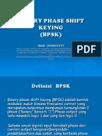 Binary Phase Shift Keying(Bpsk)Presentasi