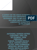 A Survey on the ASEAN Economic Integration 2015