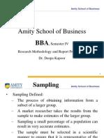 RMRP-Sampling