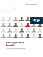 Adecco Whitepaper Unlocking Peoples Potential 2012