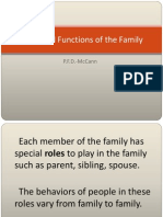 Roles and Functions of the Family-Risa