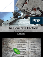Mix Concrete Batching Plant Business Plan