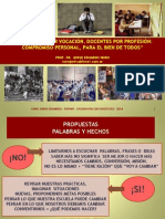 262. NUEVOS DOCENTES + RENOVADOS COMPROMISOS