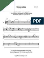 Mapping Australia Sheet Music