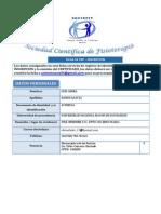 Ficha de Pre-Inscripcion