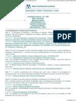 DJi - ADCT - Constituição Federal - CF - 1988-Ato Das Disposições Constitucionais Transitórias