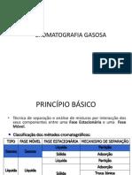 CROMATOGRAFIA GASOSA