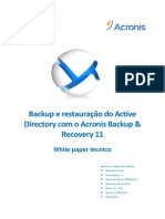 ABR11AS Active Directory Backup Whitepaper Pt-BR