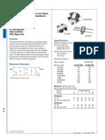 Datasheet Noise Filter
