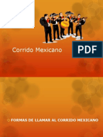 Corrido Mexicano