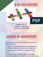Leaders as Facilitators
