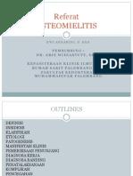 Pp Referat Osteomilitis