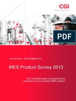 MES Product Survey 2013 Flyer