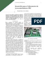 Tarjeta de Desarrollo Para El Laboratorio de Micros Pic