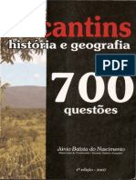 700 Questões - História e Geografia Do Tocantins