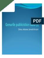 Genurile Publicistice Radio (1)
