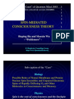 Spin-Mediated Consciousness (Talk)