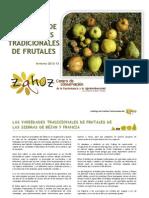 Catalogo de Variedades Tradicionales de Frutas