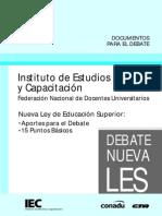02. Nueva Ley de Educación Superior