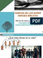 Presentación Hábitos de Super Héroes