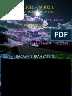 Slide Surah Yassin